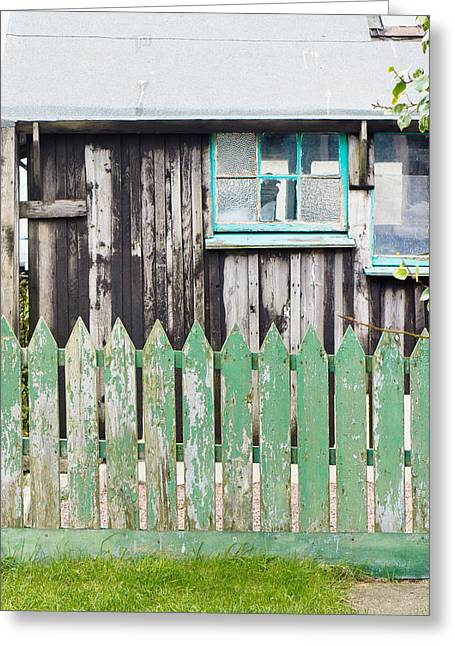 Wooden Shed Greeting Card