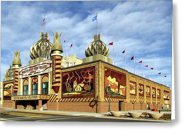 World's Only Corn Palace 2017-18 Greeting Card