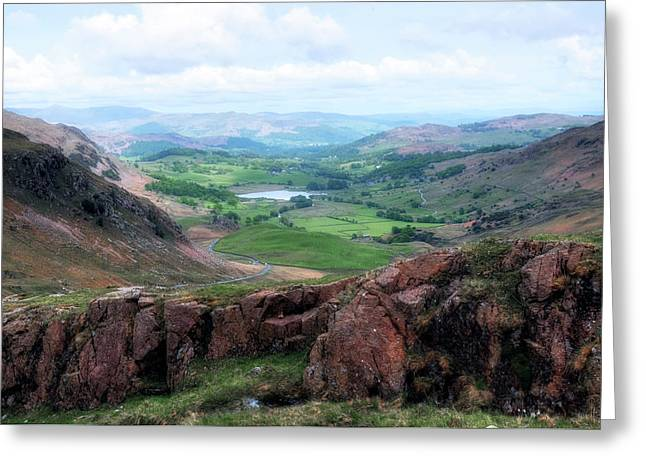 Wrynose Pass - Lake District Greeting Card