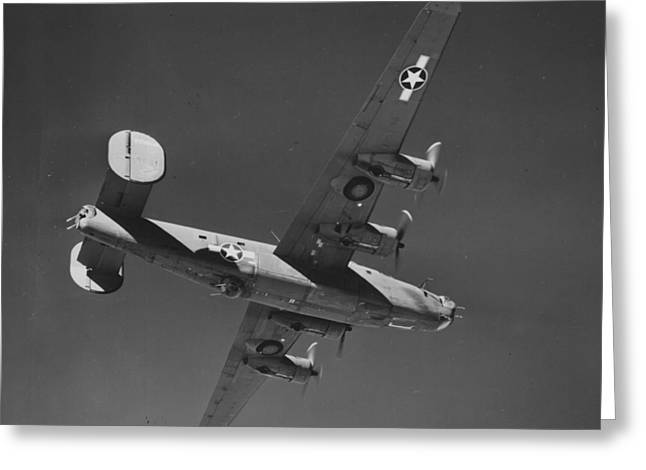 Wwii Us Aircraft In Flight Greeting Card