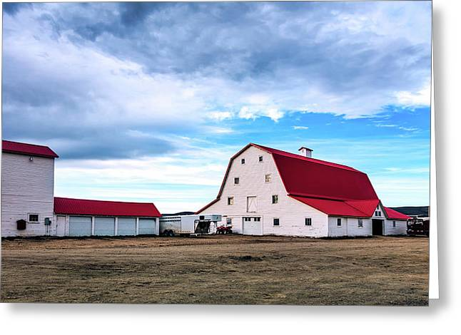Wyoming Ranch Greeting Card by L O C