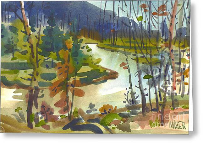 Yellowstone River Greeting Cards - Yellowstone River Greeting Card by Donald Maier