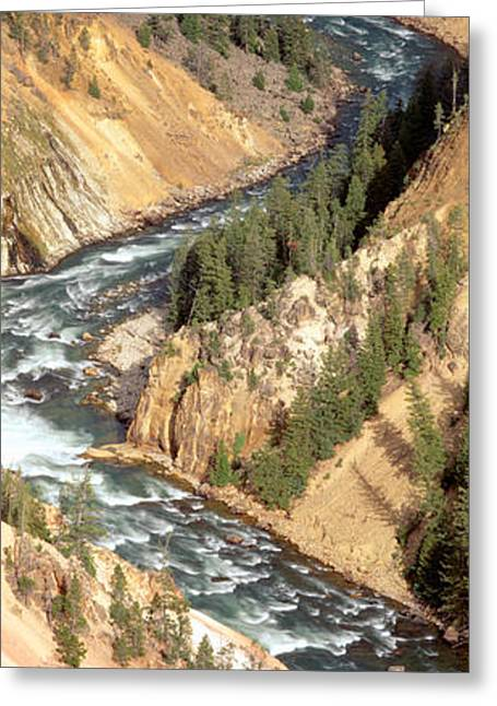 Yellowstone River, Yellowstone National Greeting Card by Panoramic Images