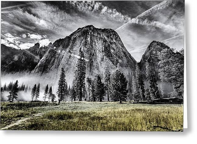 Yosemite Dawn Greeting Card