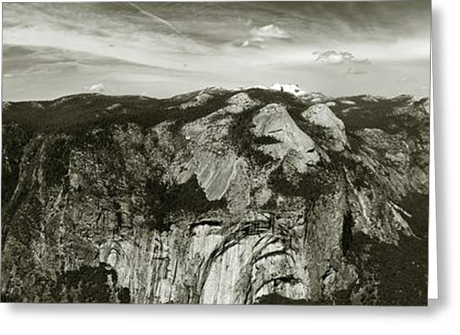 Greeting Card featuring the photograph Yosemite National Park  by John Hix