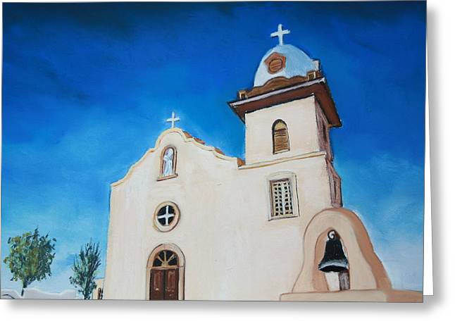 Ysleta Mission Greeting Card