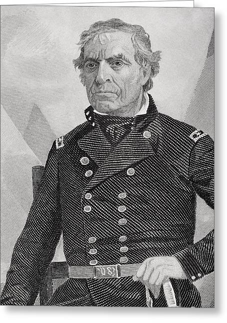 Zachary Taylor 1784 To 1850. 12th Greeting Card