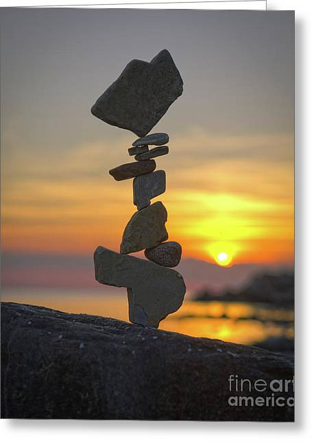 Zen. Greeting Card