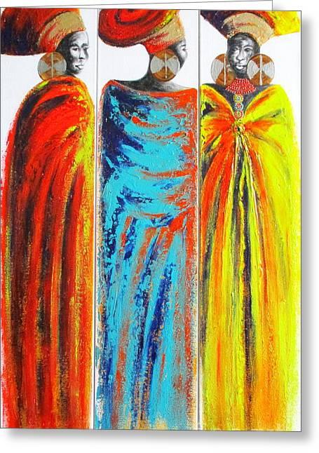 Zulu Ladies 2 Greeting Card