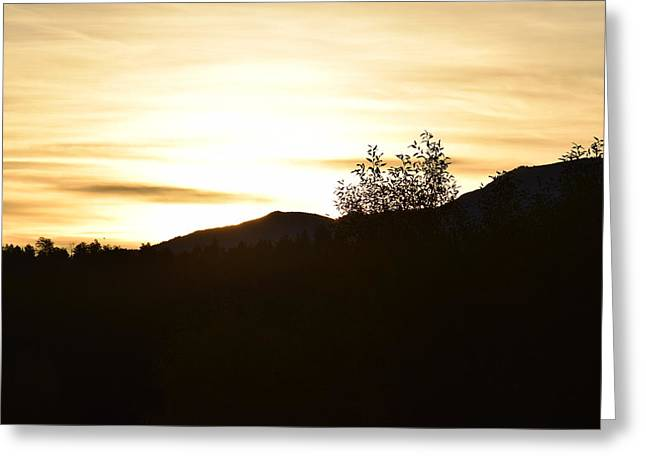 Sunrise Back Country Co Greeting Card