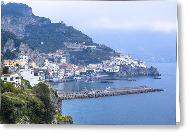 Amalfi - Amalfi Coast Greeting Card by Joana Kruse