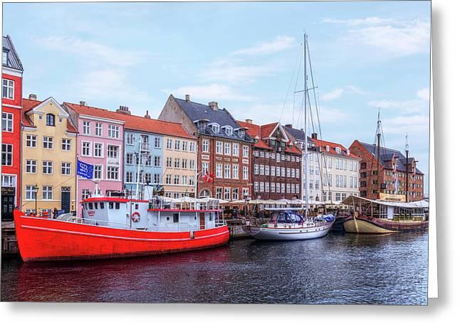 Copenhagen - Denmark Greeting Card by Joana Kruse