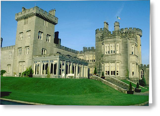 Dromoland Castle Near Shannon Ireland Greeting Card by Carl Purcell