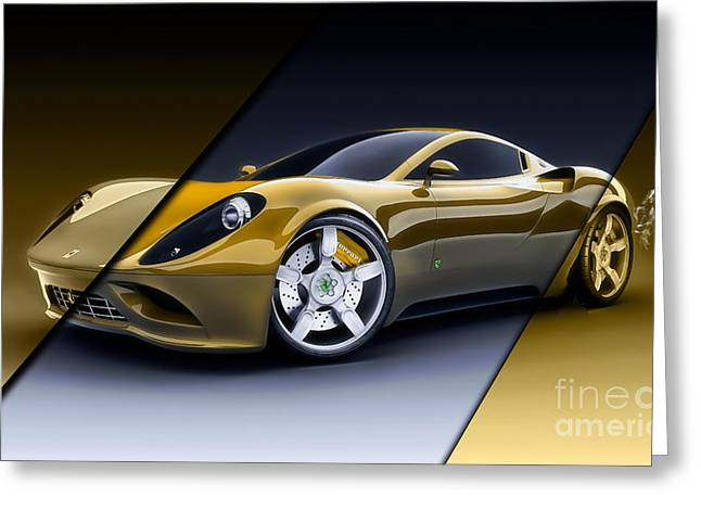 Ferrari Collection Greeting Card