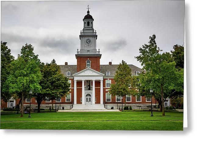 Gilman Hall - Johns Hopkins University Greeting Card