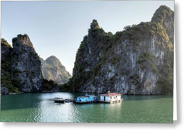 Halong Bay - Vietnam Greeting Card by Joana Kruse