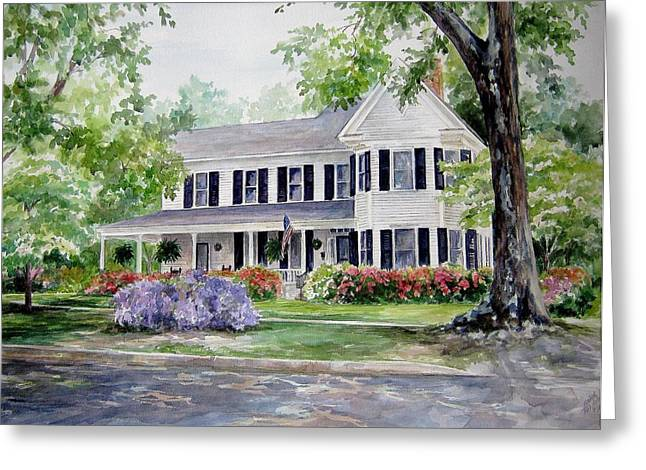 Home Portrait Greeting Card by Gloria Turner
