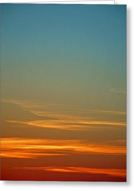 Huron Skies Greeting Card
