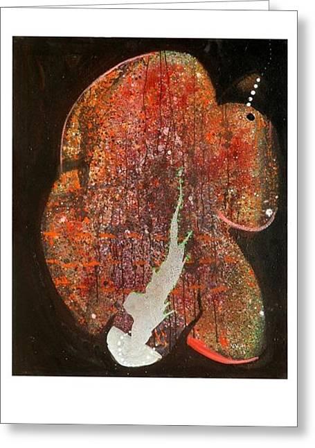 Hymn To Eternity Greeting Card by Victor Vijay Kumar