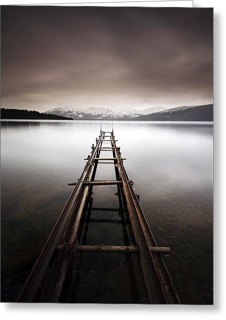 Loch Lomond Greeting Card by Grant Glendinning