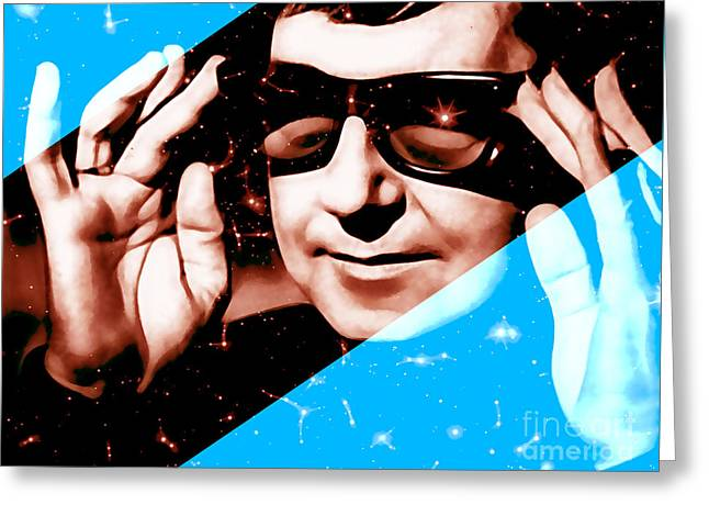 Roy Orbison Collection Greeting Card