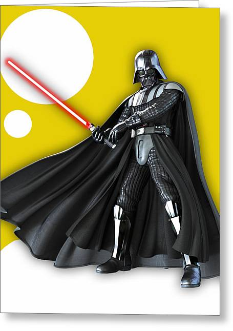 Star War Darth Vader Collection Greeting Card