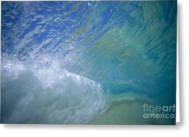 Underwater Wave Greeting Card
