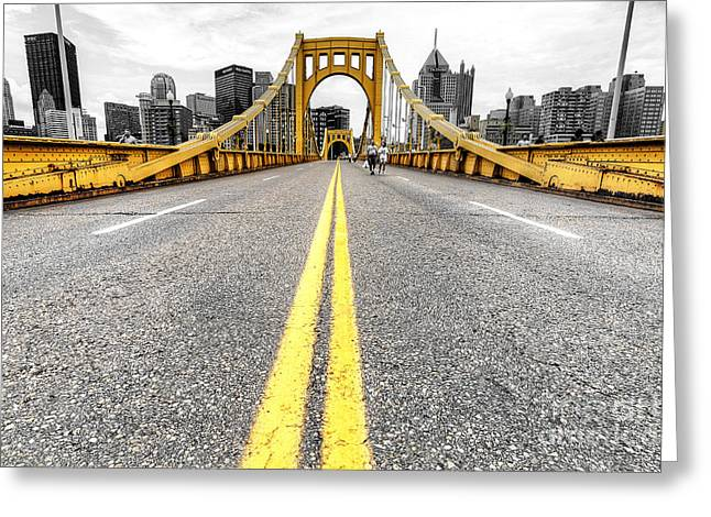 1008 Pittsburgh Pa Greeting Card by Steve Sturgill