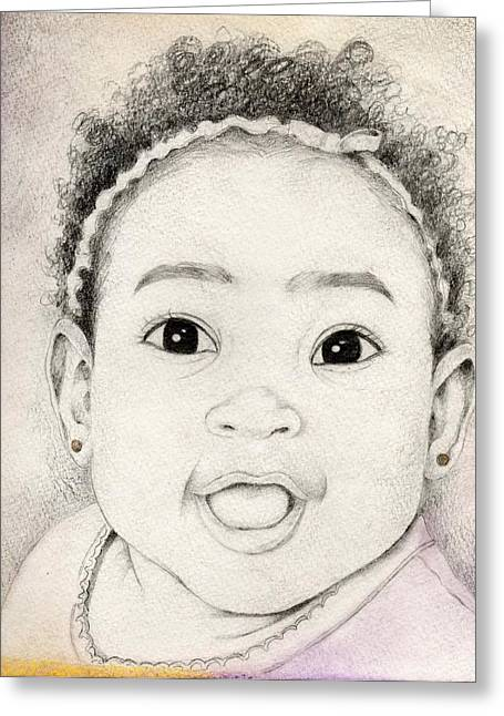 105 Greeting Card by Candace Williams