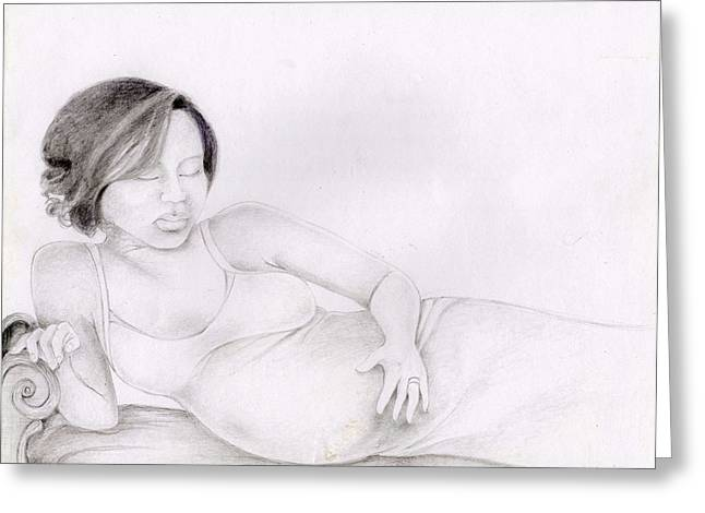 107 Greeting Card by Candace Williams