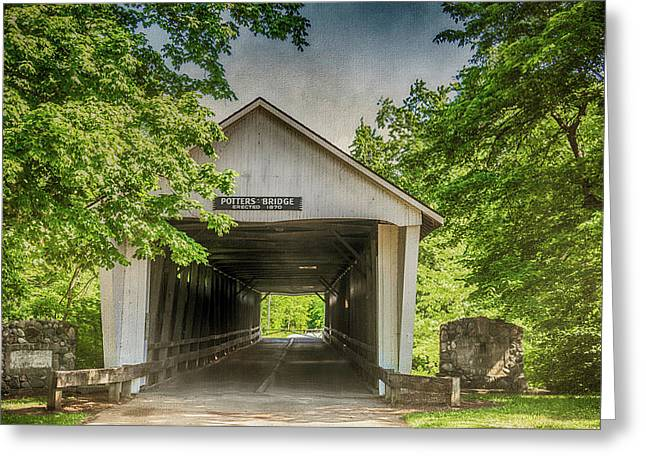 10700 Potter's Bridge Greeting Card