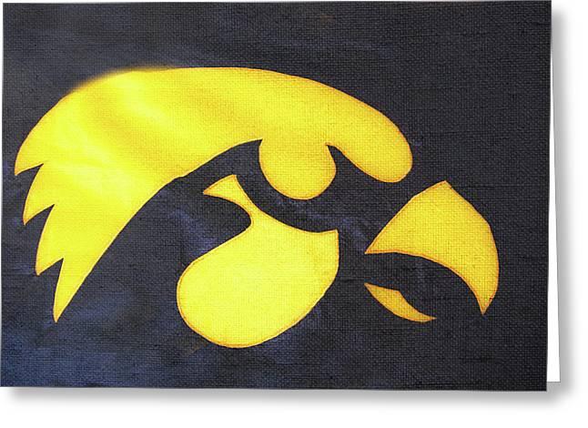 10724  Iowa Hawkeye Greeting Card