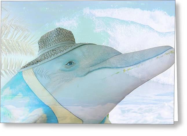 10732 Flipper Greeting Card
