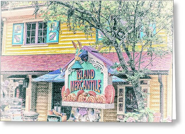 10768 Island Mercantile Greeting Card