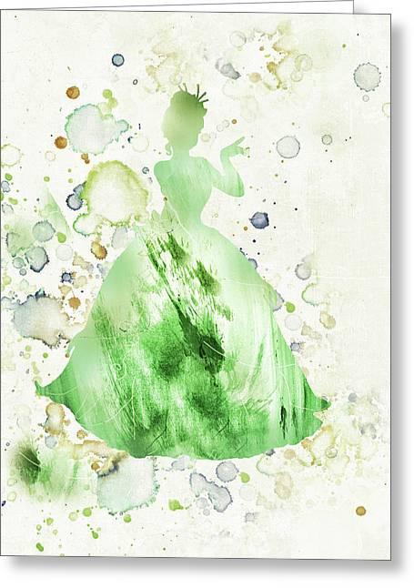 10807 Princess Tiana Greeting Card