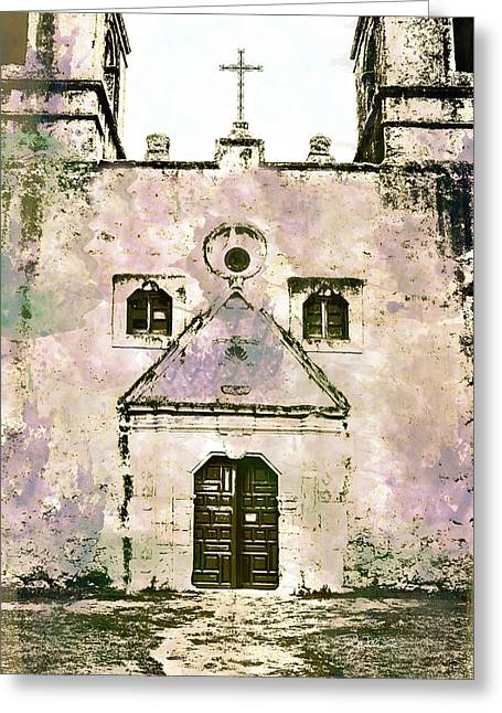 10852 Mission Concepcion Greeting Card