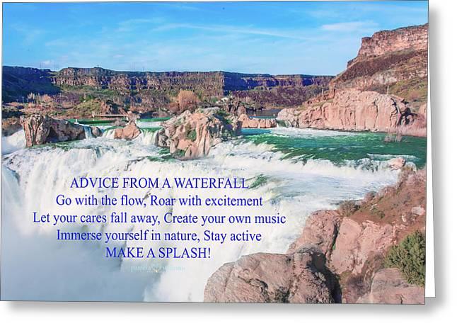 10919 Make A Splash Greeting Card by Pamela Williams