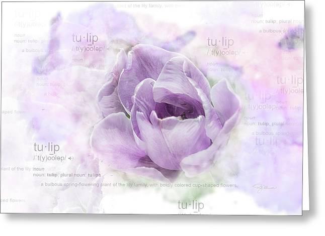 10947 Tulip Greeting Card