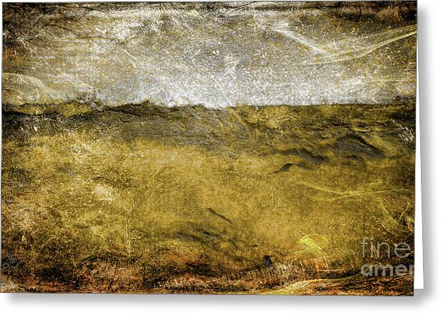 10b Abstract Expressionism Digital Painting Greeting Card