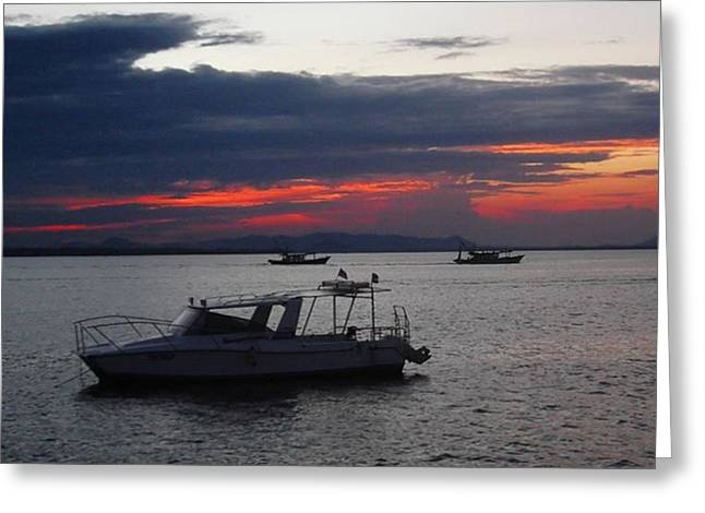 #10yearsoftravel Another Amazing Sunset Greeting Card by Dante Harker