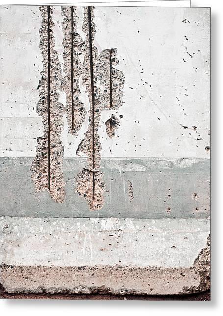Damaged Wall Greeting Card