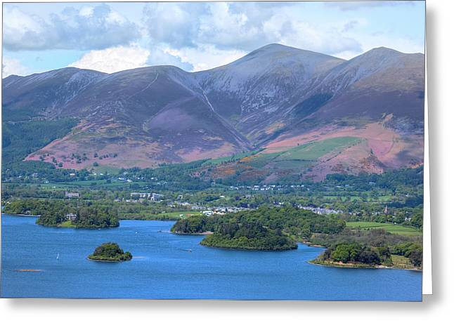 Derwentwater - Lake District Greeting Card by Joana Kruse