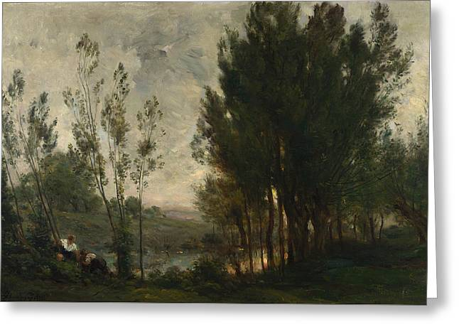 Francois Daubigny  Greeting Card