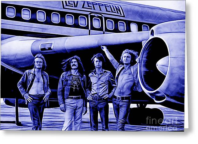 Led Zeppelin Collection Greeting Card