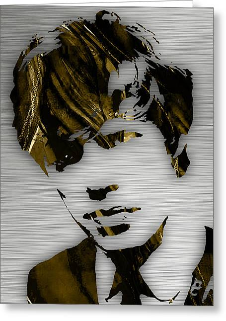 Mick Jagger Collection Greeting Card