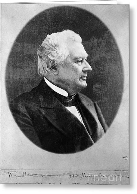 Millard Fillmore (1800-1874) Greeting Card by Granger