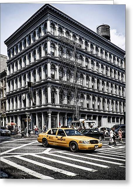Greeting Card featuring the photograph New York by Juergen Held