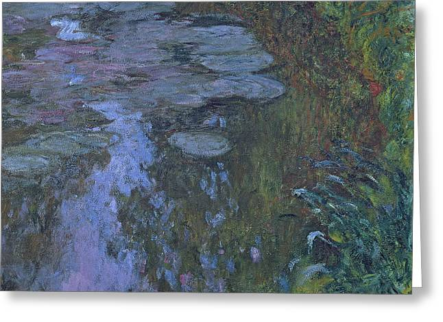 Nympheas Greeting Card by Claude Monet