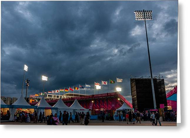 Olympic Park Greeting Card
