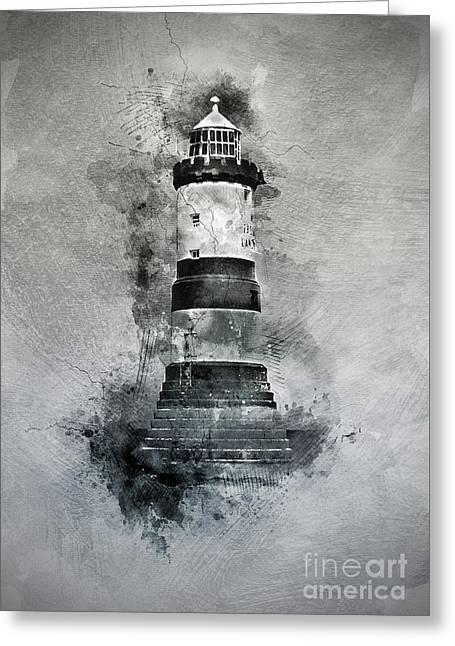 Penmon Lighthouse Greeting Card